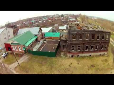 Заброшенный дом в городе Ядрин