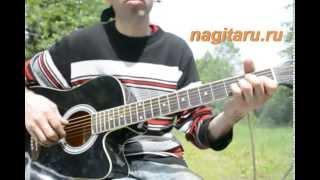 Красивая и простая мелодия на гитаре (фрагмент)  - Металлика -  Разбор