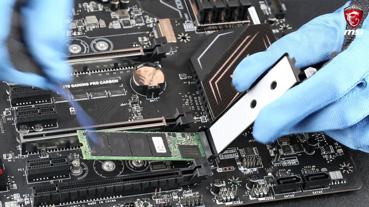 MSI® HOW-TO use M 2 Shield