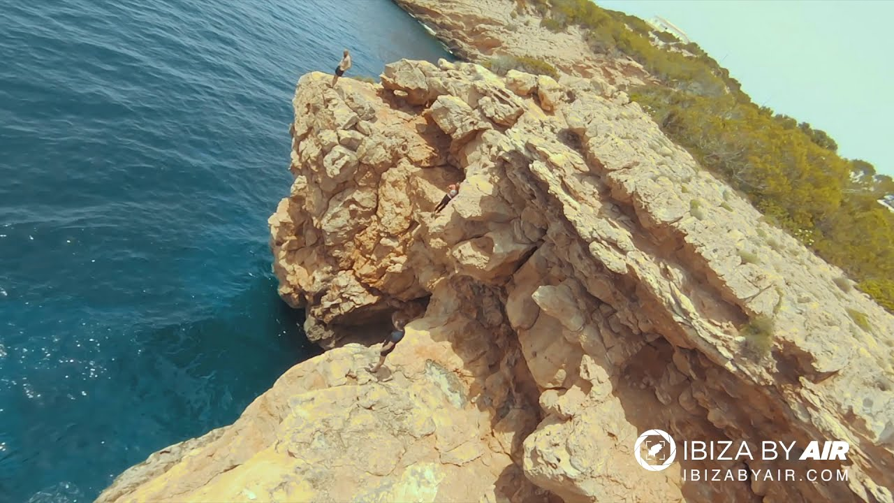 Cliff Diving FPV - Ibiza by Air фотки