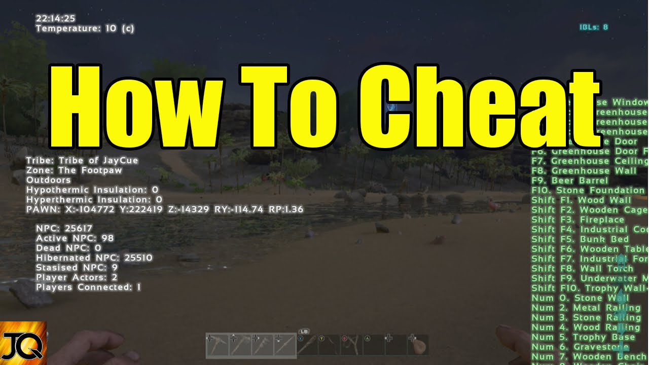 how to give someone admin on ark xbox