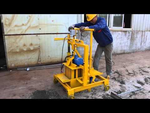 QTF40-3C Small Egg Laying Block Making Machine