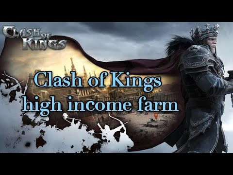 COK Clash Of Kings Cok High Income Farm