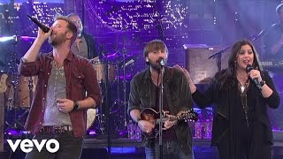 Lady Antebellum - Compass (Live On Letterman)