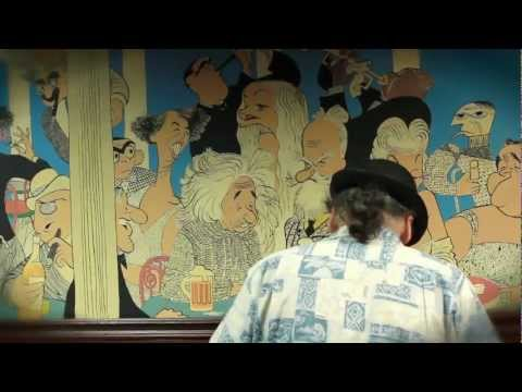 Frolic Room: The Restoration of an Al Hirschfeld Mural