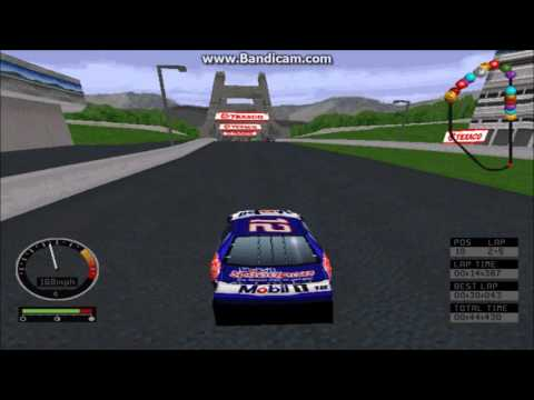 NASCAR Road Racing (PC) Gameplay (Jeremy Mayfield) (Bridgeport Speedway) (5 Laps)