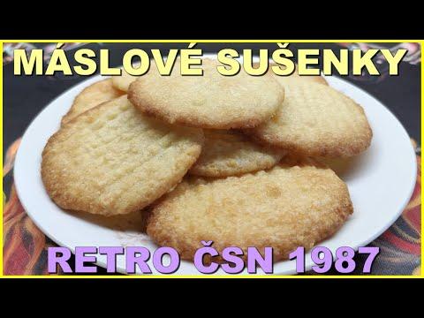 Máslové sušenky ČSN 1987