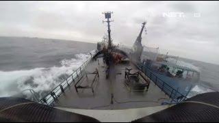 NET5 - Baku Tabrak Kapal Patroli dan Kapal Pemburu Paus di Australia