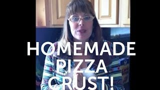 How To Make A Homemade Pizza Crust To Freeze For Later