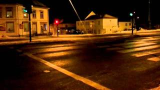 Stupid norwegian traffic lights