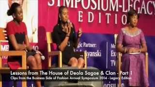 Fashion is Serious Business! -  Lessons from the House of Deola Sagoe & Clan (Pt. 1)