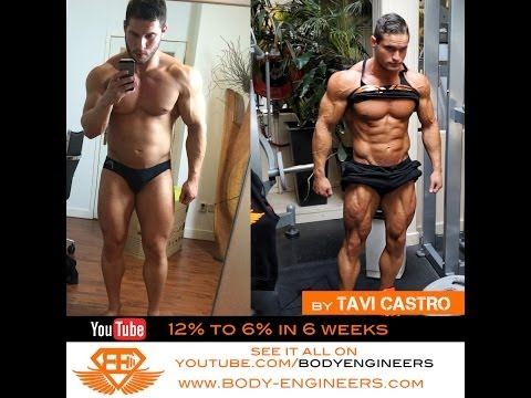 Tavi Castro - episode 01 Fat to Shredded in 6 weeks