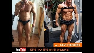 Tavi Castro - episode 01 Fat to Shredded in 6 weeks