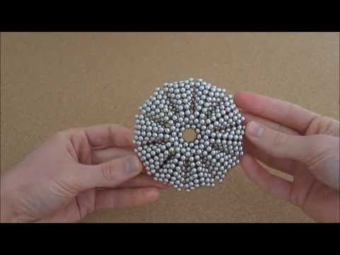 TUTORIAL Giant Truncated Dodecahedron Sphere Decagonal Subunit (Zen Magnets)