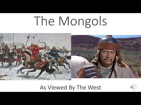The Mongols (As Viewed By The West)