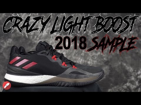 Adidas Crazy Light Boost 2018 Sample First Impressions!