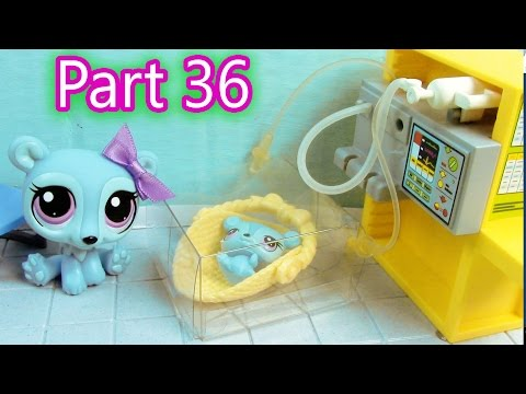 LPS Ba Hospital   Mommies Part 36 Littlest Pet Shop Series Movie LPS Mom Babies