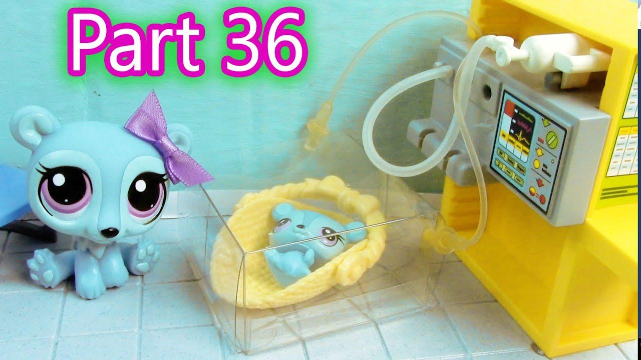 lps baby hospital mommies part 36 littlest pet shop