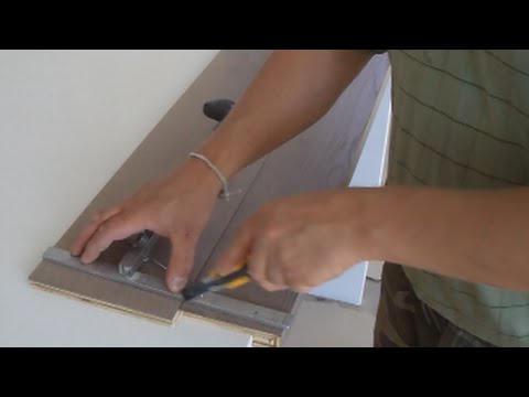 Installing Hardwood On Stairs: How To Measure And Cut Hardwood For Stair  Treads Mryoucandoityourself   YouTube