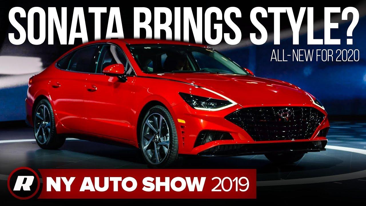 Ny Auto Show 2020.2020 Hyundai Sonata Brings New Style New York Auto Show 2019