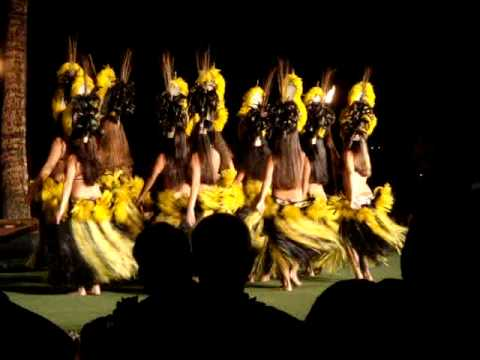 Native Hawaiian Hulu Dances at Luau