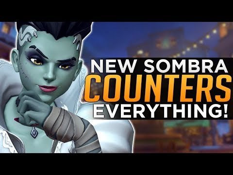 Overwatch: Sombra Counters EVERYTHING! - Advanced Guide