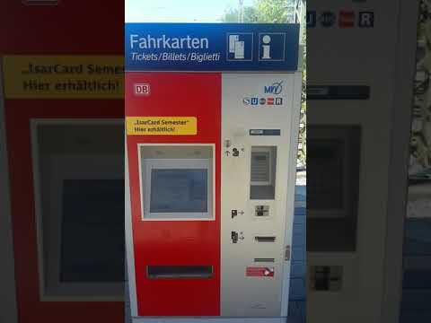 How To Buy An Mvv Group Ticket At A Machine