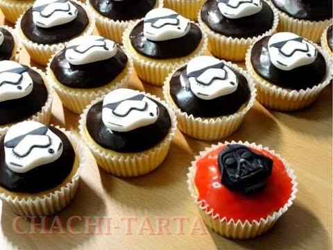 Chachi Tarta Cupcakes Star Wars Sin Gluten Youtube