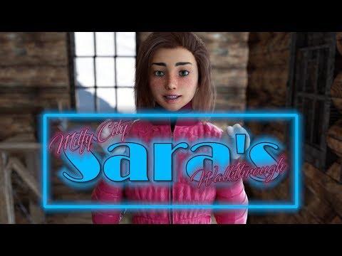 Milfy City 0.5c(icstor)Sara's Walkthrough[18+]-Getting Ready For Christmas Edition-