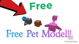 Roblox Studio FREE MODELS PETS!! Roblox (Link in desc) (Roblox Giveaway)