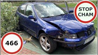 Stop Cham #466 - Niebezpieczne i chamskie sytuacje na drogach
