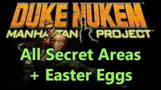 Duke Nukem Manhattan Project All Secrets, Easter Eggs & Secret Boss WOZMA