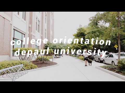 College Orientation // DePaul University