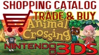 "ANIMAL CROSSING - NEW LEAF:  Kauf & Tausch mit mir! Einkaufskatalog ""Shopping Catalog"" TRADE WITH ME"
