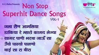 Non Stop Superhit Holi Dance Songs | New Rajasthani Fagan Jukebox | Seema Mishra Mukul Soni