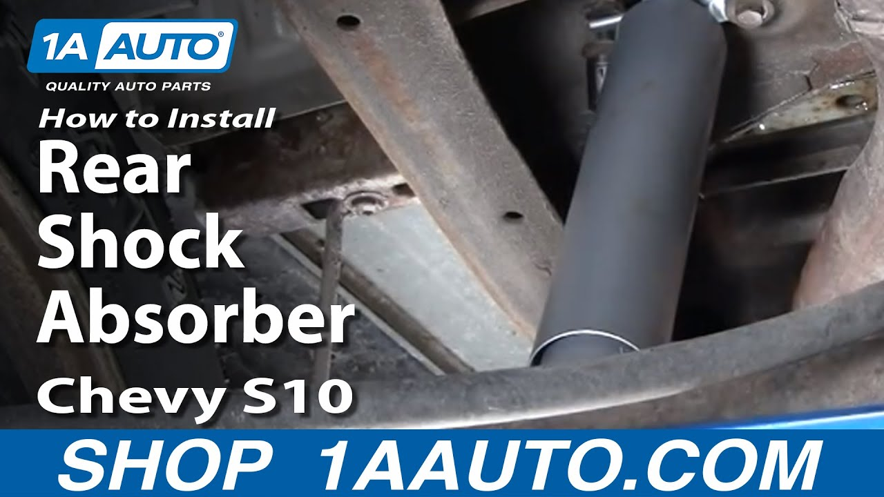 How to Replace Shock Absorber 8204 Chevy S10 Pickup  YouTube