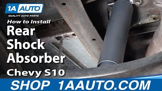 Front /& Rear Shocks For Chevrolet S10 Blazer Sonoma Jimmy S15 4x4 4WD Gabriel