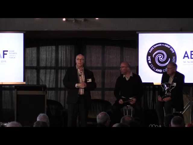 Archangel Award 2015 Presentation at #ABAF15NZ