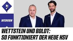Der neue HSV | Frank Wettstein & Jonas Boldt im Interview