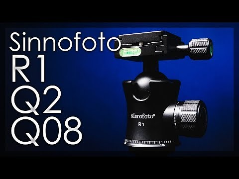 Sinnofoto R1, Q2 & Q-08 Tripod Ball Heads Review - Amazing Quality At An Affordable Price