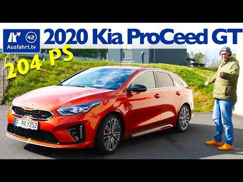 2020 Kia ProCeed GT 1.6 T-GDI 7-DCT  - Kaufberatung, Test Deutsch, Review, Fahrbericht Ausfahrt.tv