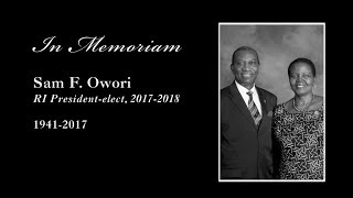 Sam F. Owori - In Memoriam
