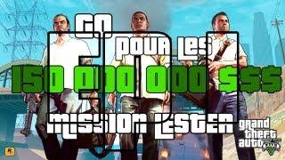 GTA V | Ep 1 Go pour les 150 000 000 $ Mission Lester