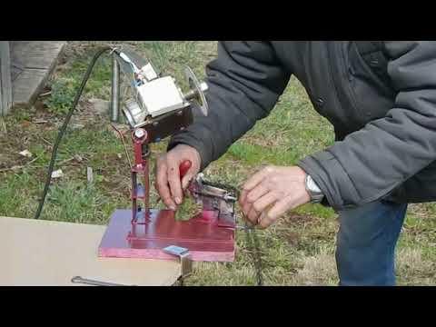 Как сделать заточной станок для цепей бензопил своими руками