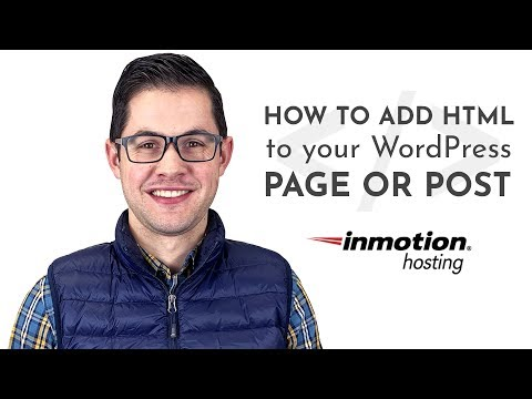 How To Add HTML To Your WordPress Page Or Post