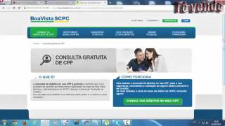 Consulta CPF CNPJ - Descubra como saber se seu nome está sujo pela internet