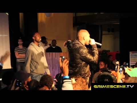 Kano and Ghetts at Industry Takeover 2011
