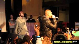 "Kano and Ghetts at Industry Takeover 2011 ""live performance p"