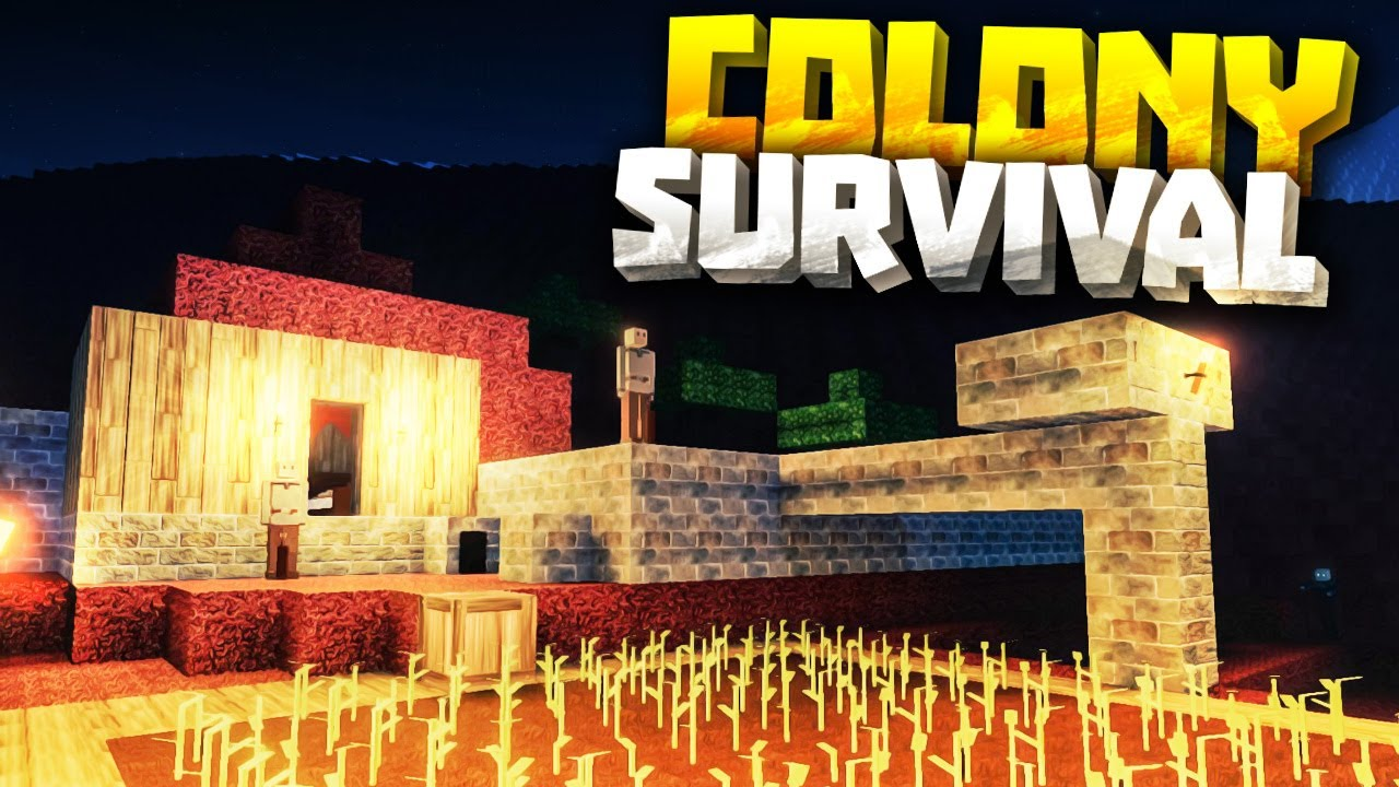 MOUNTAIN CASTLE - Colony Survival PC Gameplay Part 2 - New ...