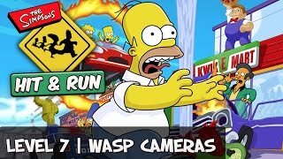 The Simpsons Hit and Run - Level 7 All Wasp Cameras [Collectible Guide]